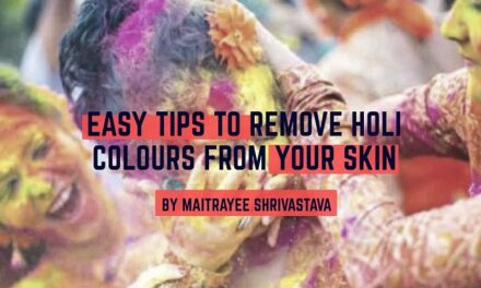 EASY TIPS TO REMOVE HOLI COLOURS FROM YOUR SKIN!